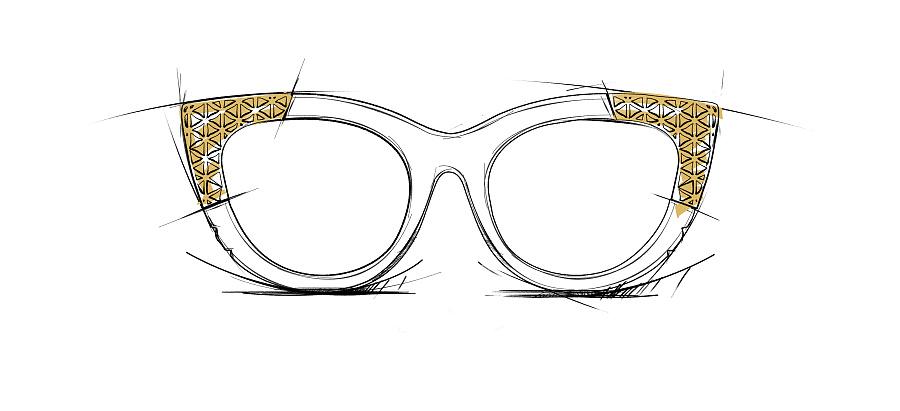时尚产品设计手绘图