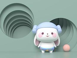 泥萌兔 与 甜兔酱潮玩产品