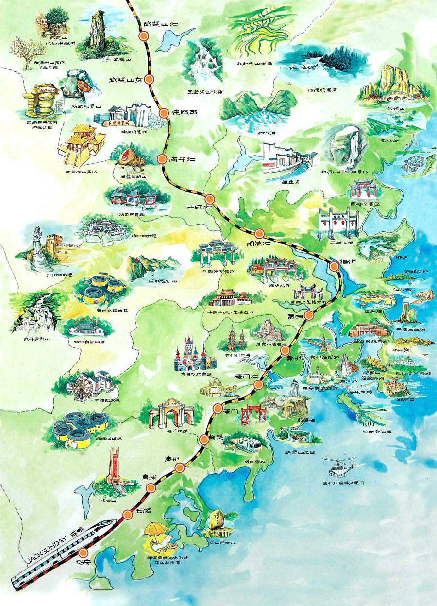山东旅游地图_山东旅游景点大全图