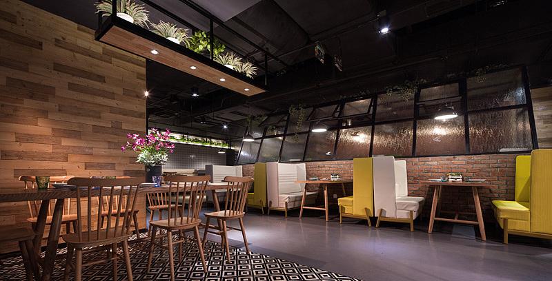 西餐厅 · 餐饮空间设计_绿茵阁 广州天娱店
