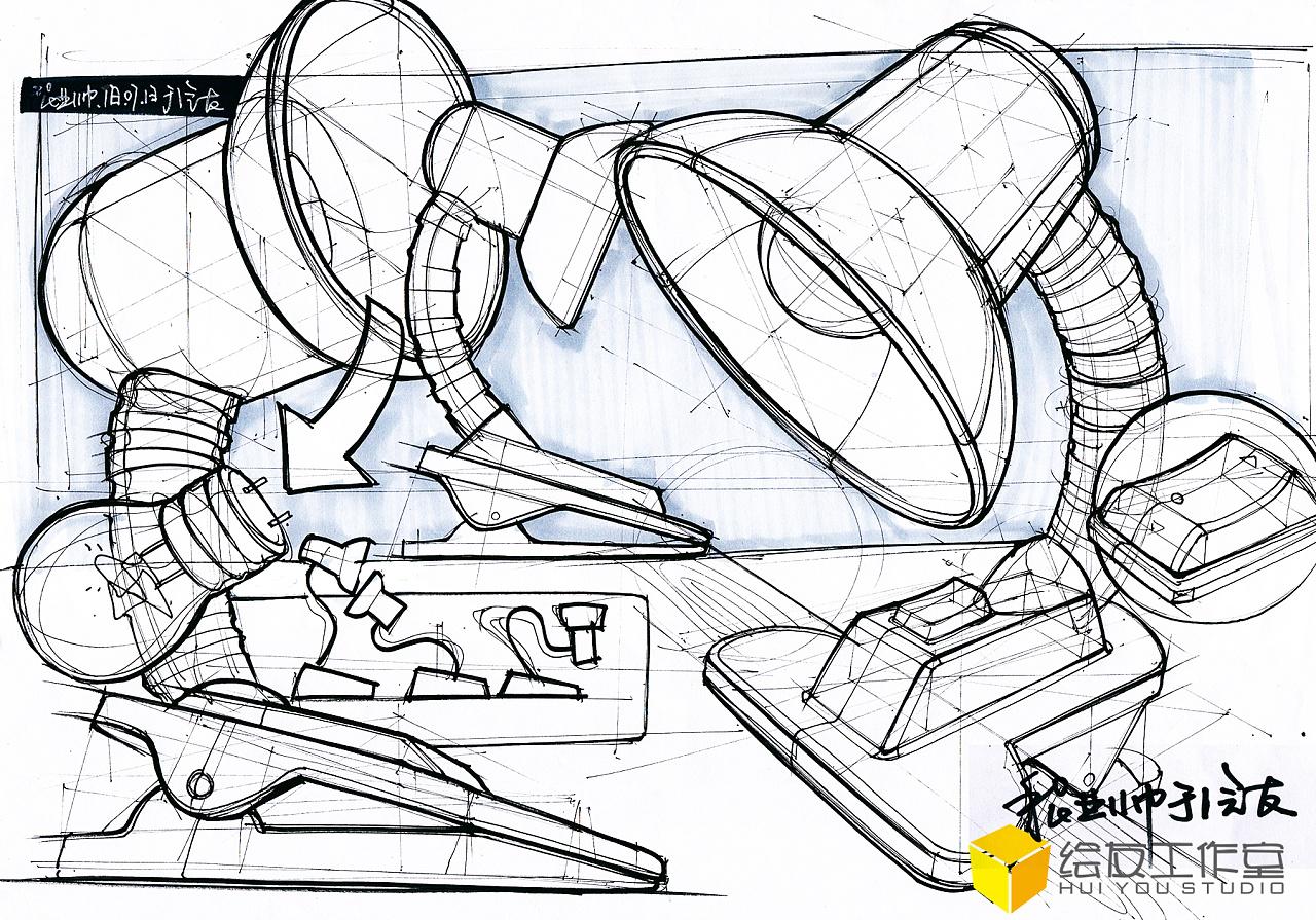 工业设计手绘线稿
