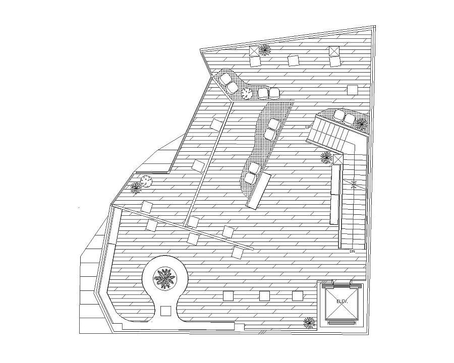 工程图 简笔画 平面图 手绘 线稿 900_720