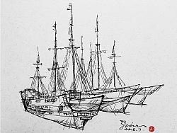线相系列—钢笔画·意境