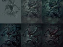 《Deep Madness》怪物之: Twisted (扭曲) 创作过程