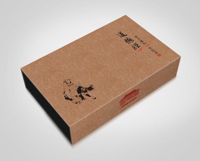 道德经茶叶礼品盒的设计,供大家吐槽.|平面|包装|ai最新版中国模具设计大典图片