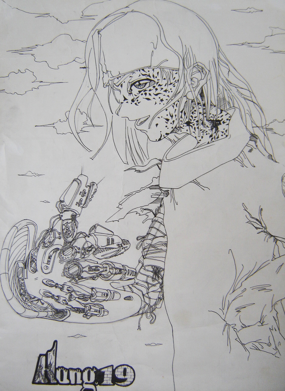 漫画手绘|插画|商业插画|荭翼 - 原创作品 - 站酷