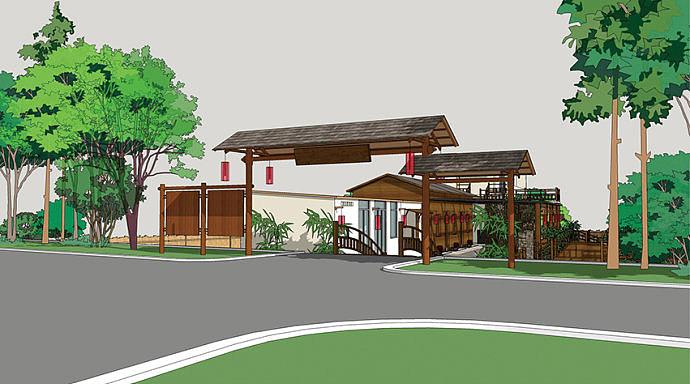 【推荐】这家重庆农家乐设计,带有禅意的田园式农家乐