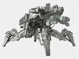 未来兵器设计——模块量产型作战单位