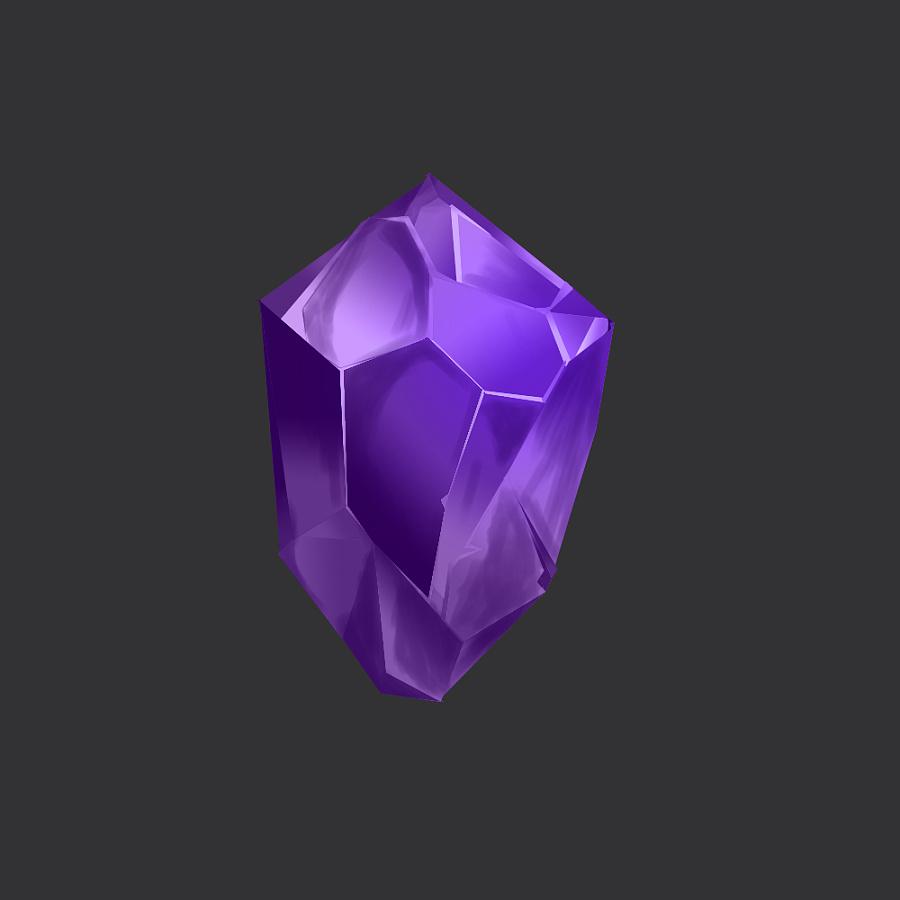 《钻石》游戏版 手绘