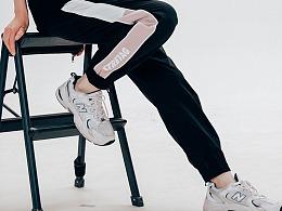 运动休闲宽松小脚裤