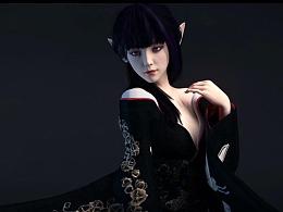 人物与服装概念,案例01——女妖姬