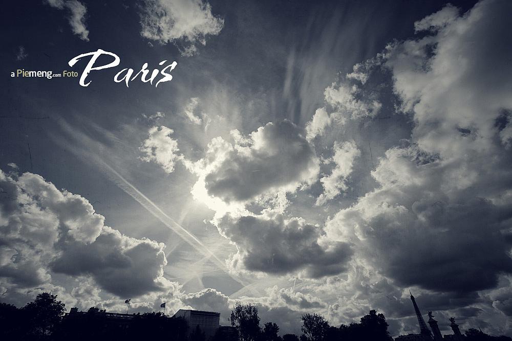 巴黎的天空下 乐谱