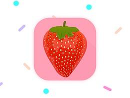 Strawberry Icon_教程