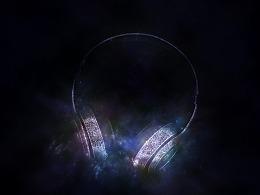 梦幻星空魔声耳机