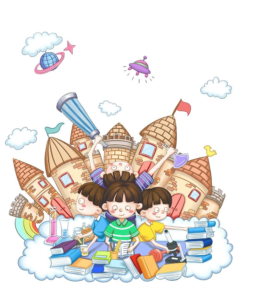 儿童封面系列|儿童插画|插画|张秋墨