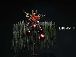 圣诞主题-花艺设计