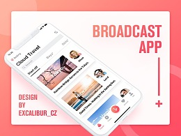 Broadcast App Design