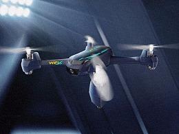 母婴玩具四轴飞行器 无人机 淘宝详情首页设计
