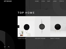 TOP HOME——原创家具界面设计