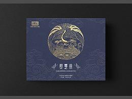中国风灵芝茶包装设计