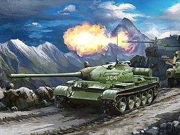 1950年代前苏联装甲纵队