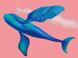 《飞吧》WWF拯救江豚的微笑-设计师海报邀请展