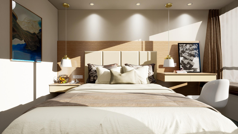 ue4做的一套室内效果图|三维|建筑/空间|冰封紫水晶