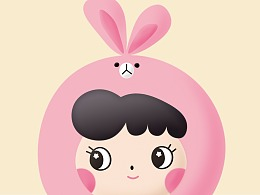 兔子 卡通形象设计