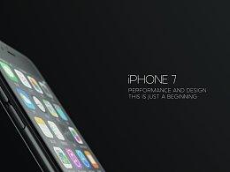 iPhone 7 。