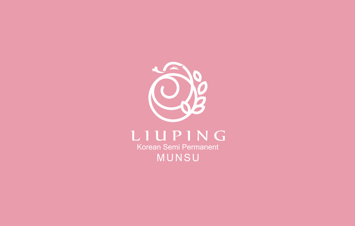 liuping纹绣logo设计方案