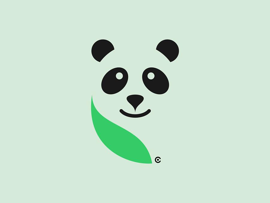 有个牌子的logo是一个熊猫头,熊猫的表情好像很生气,是什么品牌?图片