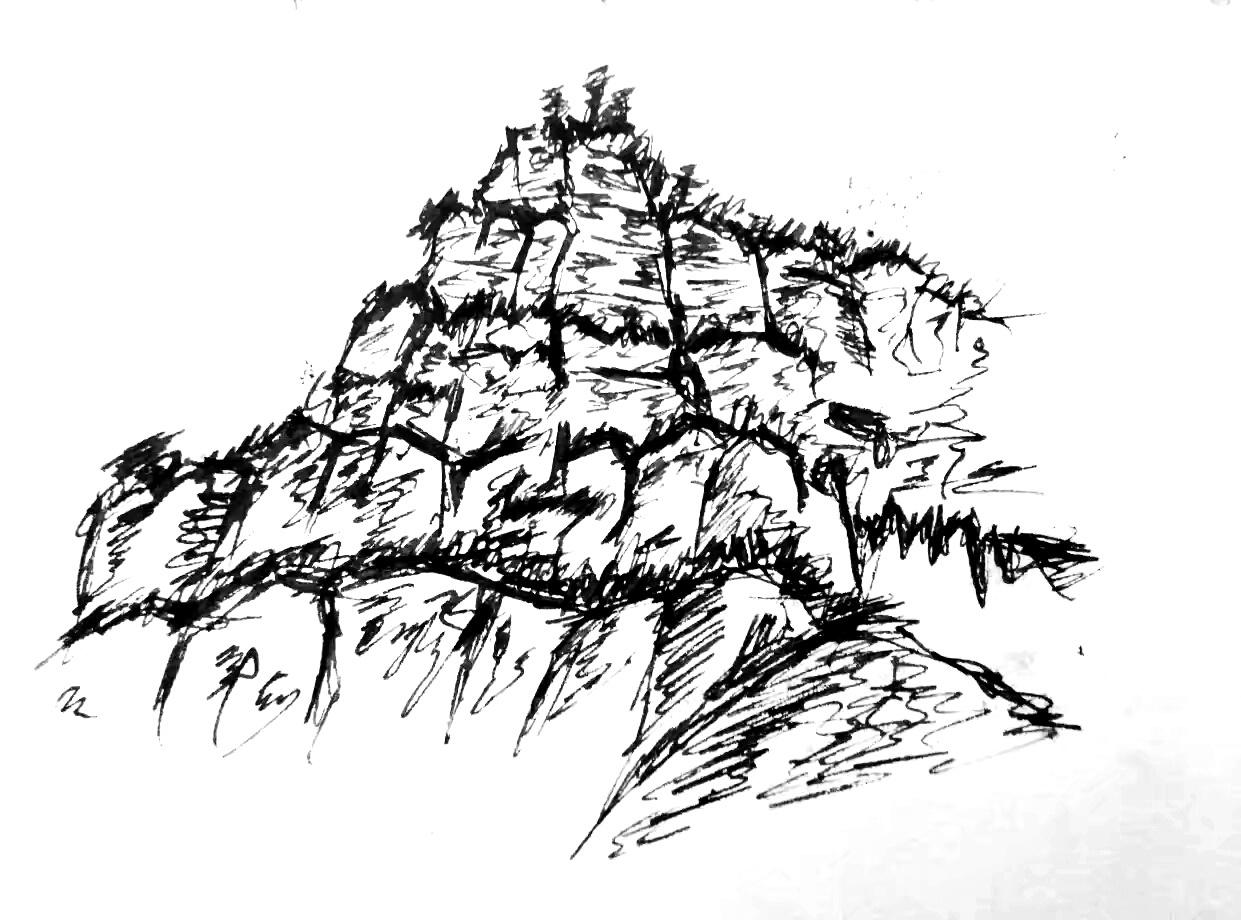 简笔画 手绘 线稿 1241_920