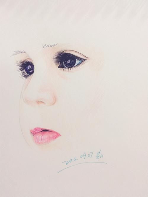 20150907铅笔手绘|绘画习作|插画|笑烟