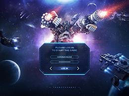 游戏登录界面设计