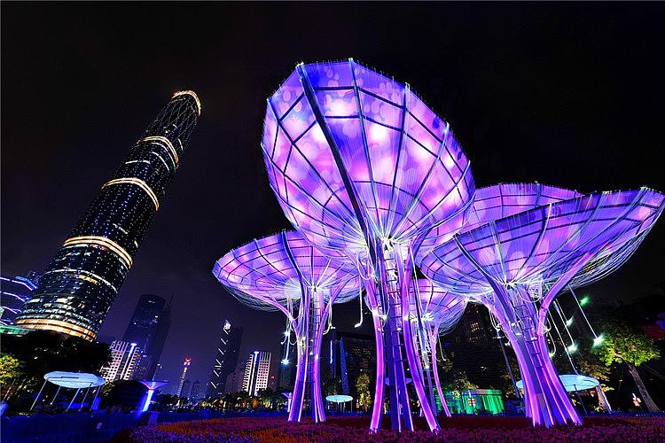 场_广西灯光展览灯光造型制作策划大型房地产假日公园活动策划场地布置