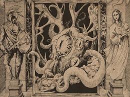 寄生体神秘主义——《贪婪洞窟2》游戏视觉插画创作