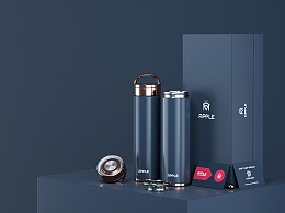 APPLE-保温杯-产品设计