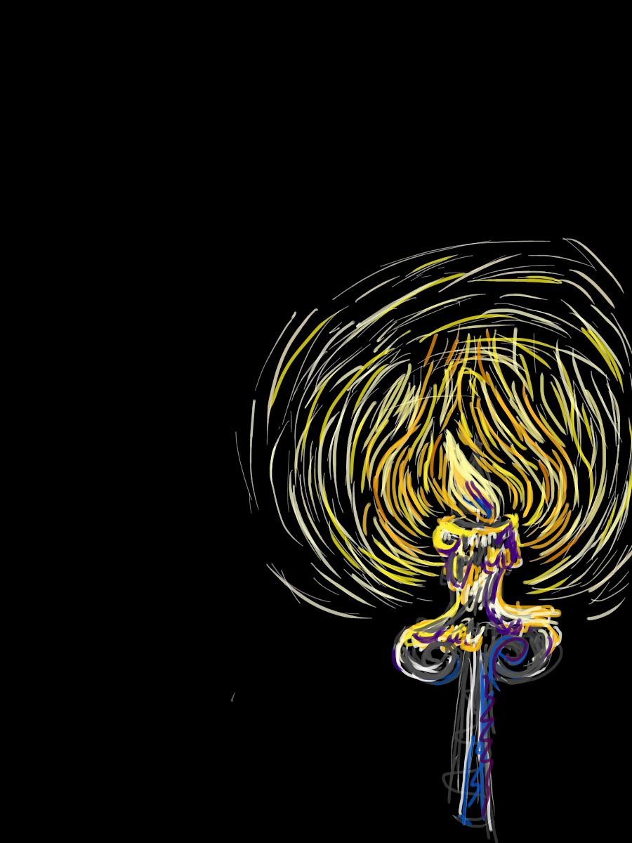 查看《微弱之光》原图,原图尺寸:2480x3307