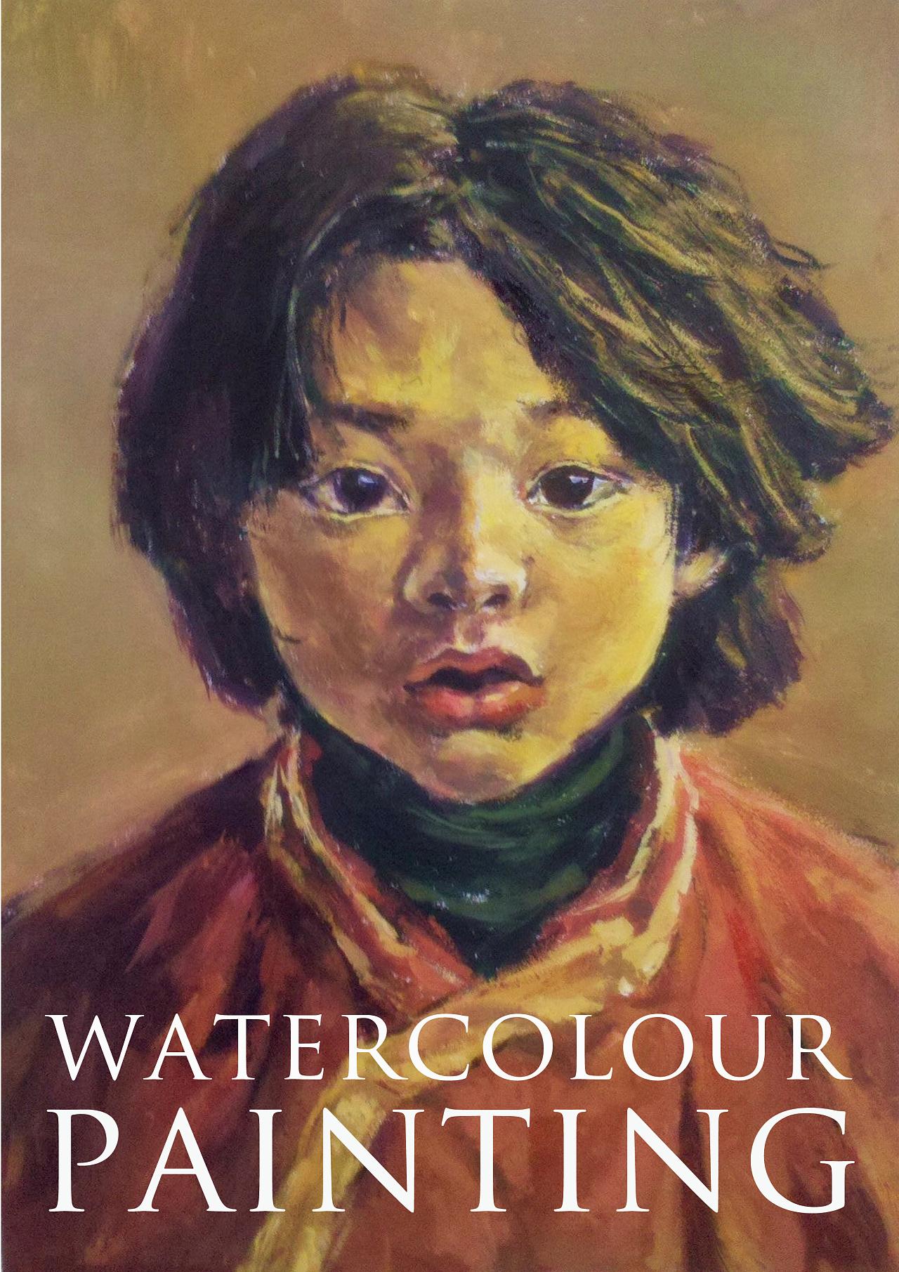 水粉~藏族小女孩