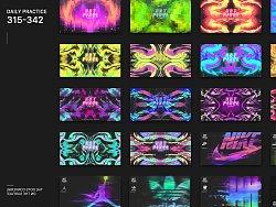Daily practice|Graphic Design|315-342