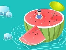 夏日&游泳