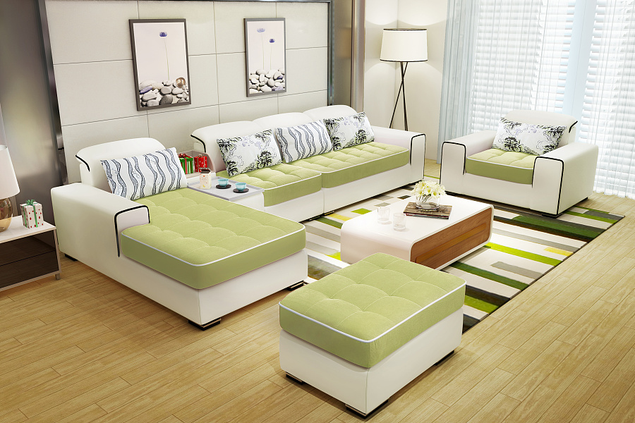 淘宝/天猫家具3d效果图制作--现代简约沙发a--105