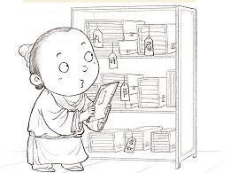 国学成语故事线稿3