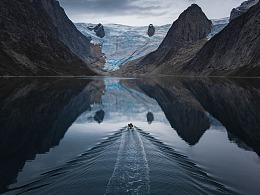 这里是格陵兰岛 - 北极荒原