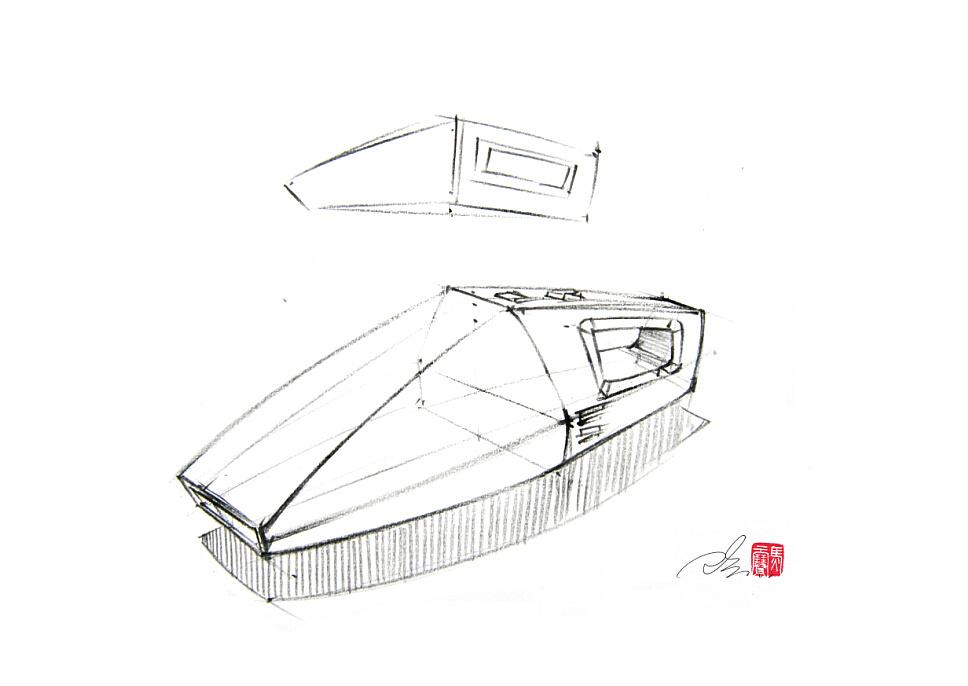 手持式吸尘器线稿步骤图~|工业/产品|生活用品|马赛