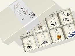 「鹤泉净米」品牌包装设计