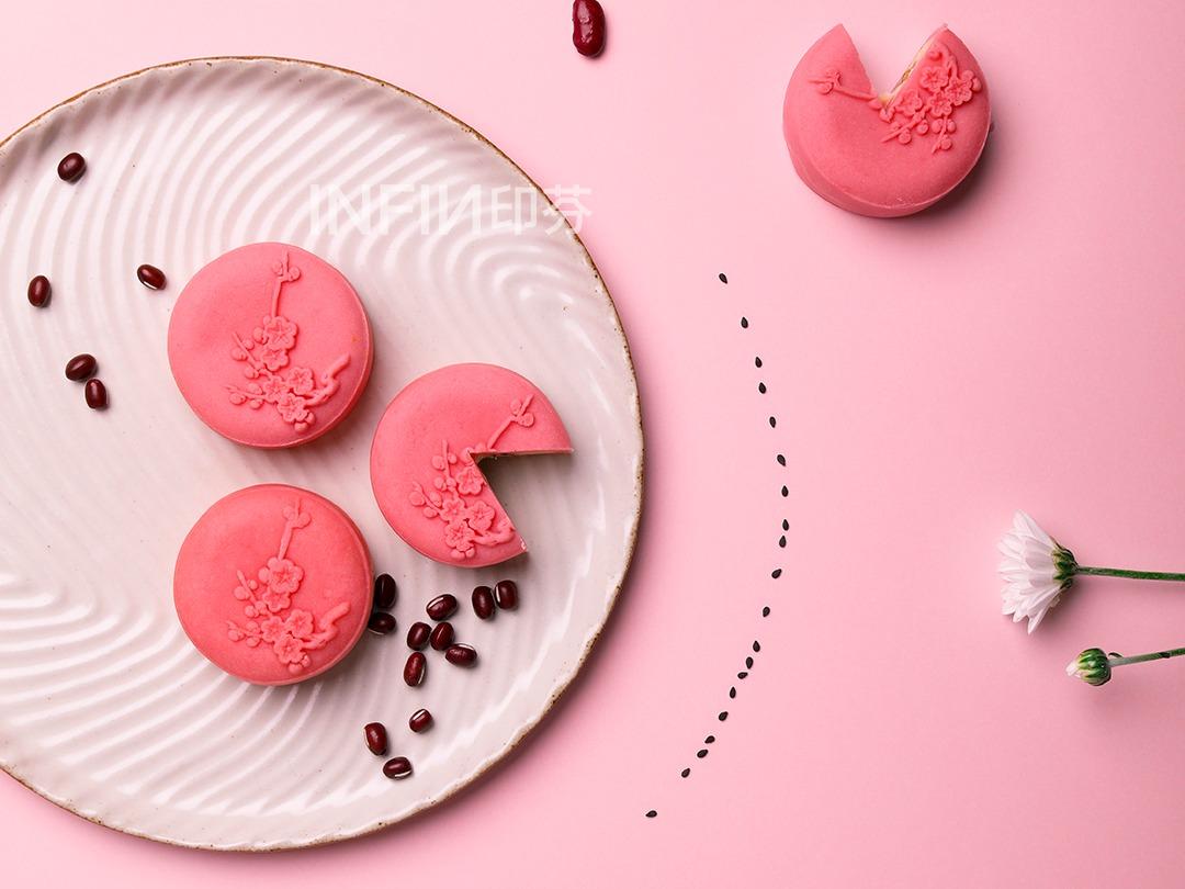 月饼 糕点创意海报拍摄
