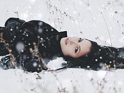 想完胜朋友圈的雪景图,就用这一招就够了