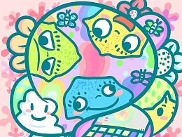 NCD泡泡宝宝唱片封面设计
