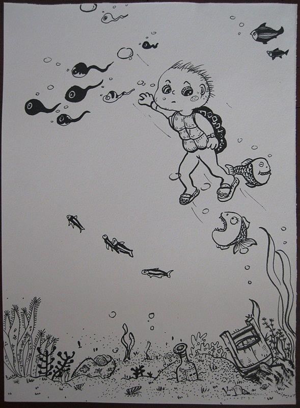 小蝌蚪旅行日记